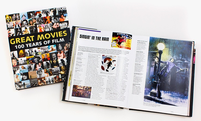 great movies coffee table book | groupon goods