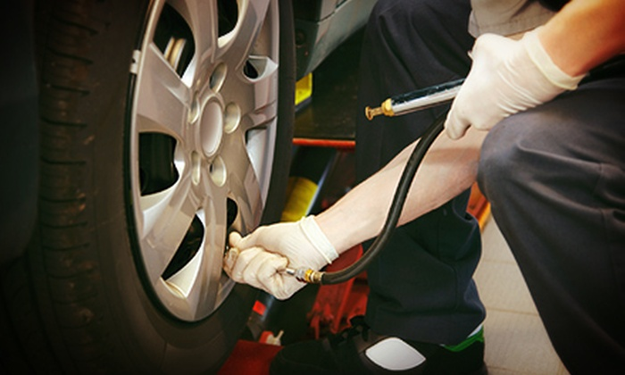Cassidy Tire & Service - Multiple Locations: Auto-Service Package with Tire Rotation and Regular or Synthetic Oil Change at Cassidy Tire & Service (Up to 67% Off)