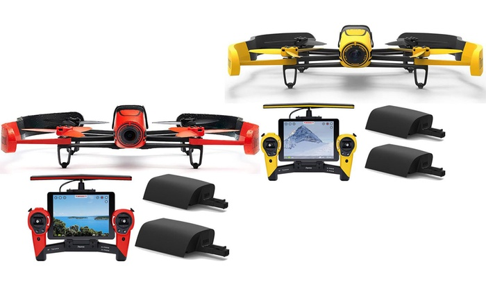 Parrot BeBop Drone With 1080p Full HD Fisheye Camera