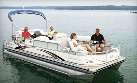 Full-Day Pontoon Rental (a $350 value) - Bartlett Lake Marina in Phoenix