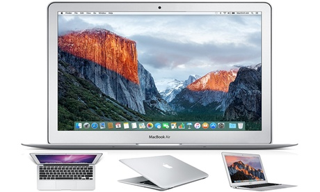 """Refurbished Apple MacBook Air A1466 'Core i7' 1.7 GHz 13"""" 8GB RAM 128GB SSD Sierra With Free Delivery"""