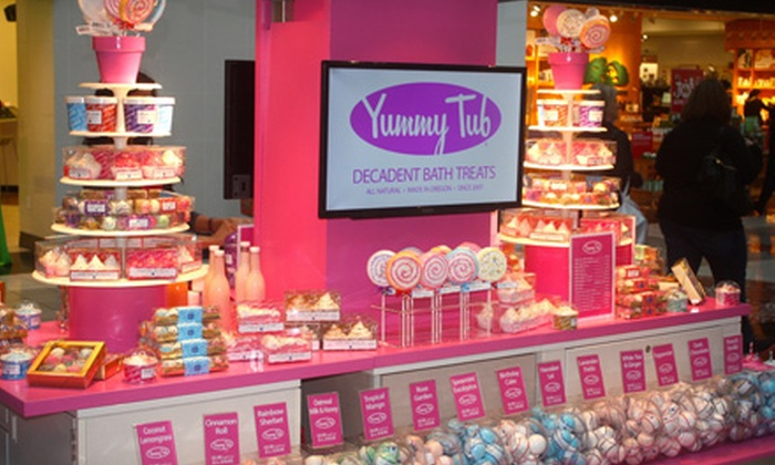 Yummy Tub - Portland: $7.50 for $15 Worth of Bath Bombs, Salts, Scrubs, and Lotions at Yummy Tub