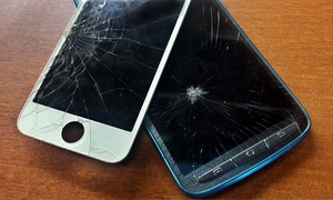 Device Savers: Repair or Screen Protection for Phones and Tablets at Device Savers (Up to 53% Off). Twelve Options.