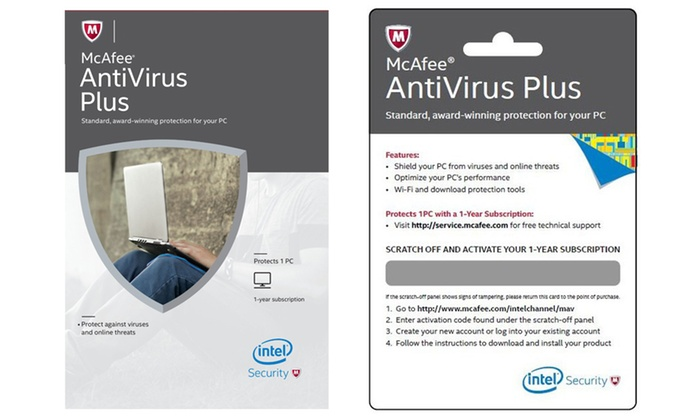 mcafee antivirus for dell laptop free download