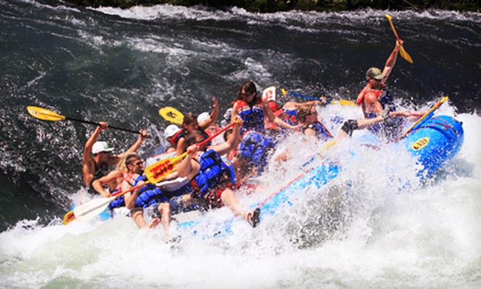 Sage Canyon River Company - Maupin - Oregon: Whitewater-Rafting Trip for Two or Up to Eight from Sage Canyon River Company (Up to 62% Off)