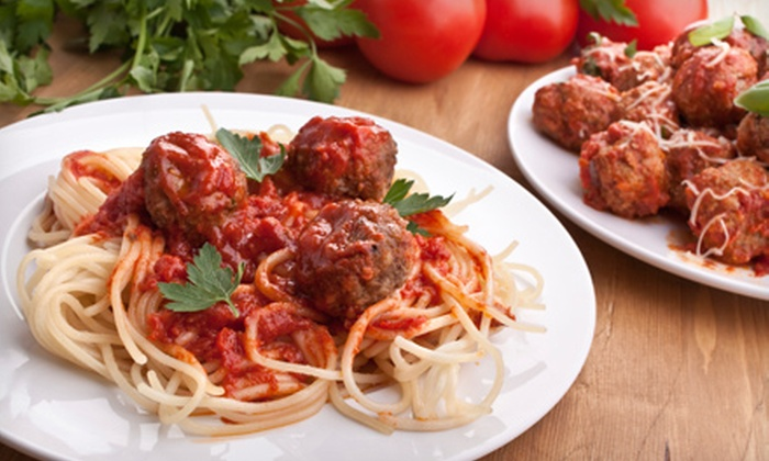 Anthony's Italian Cuisine - South Natomas: Pasta, Pizza, and Italian Classics for Two or Four at Anthony's Italian Cuisine