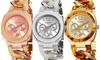 Akribos XXIV Women's Multifunction Resin Chain Watch: Akribos XXIV Women's Multifunction Resin Chain Watch