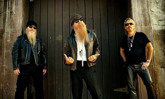 ZZ Top and 3 Doors Down - Garden District: $50 for Tickets for Two to ZZ Top and 3 Doors Down at Baton Rouge River Center Arena (Up to $115.10 Value)