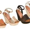 Modern Rush Ibiza Wedge Sandals