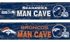 Distressed NFL Man Cave Sign: Distressed NFL Man Cave Sign. Multiple Teams Available. Free Returns.