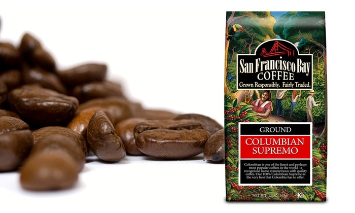 Columbian Supremo Ground Coffee 3-Pack: Colombian Supremo Ground Coffee 3-Pack