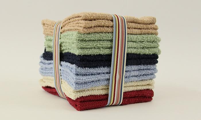 15-Piece Washcloth Set: 15-Piece Cotton Washcloth Set. Free Returns.