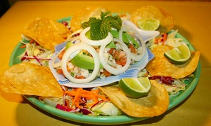 Los Patios: Mexican Food for Dine-In or Takeout at Los Patios (Up to 48% Off). Three Options Available.