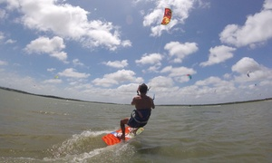 Kite N Surf: Kitesurfing Lesson for Two or Four at Kite N Surf (Up to 54% Off)