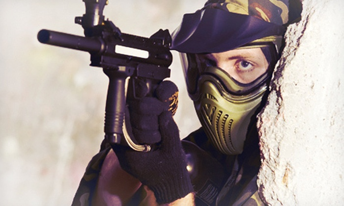 Sylvan Lake Paintball - Birchcliff: Paintball Outing for Two, Four, or Eight at Sylvan Lake Paintball in Benalto (Up to 56% Off)