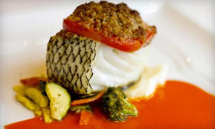 Oliver's Cafe - Bridgeport: New American and International Cuisine for Dinner or Brunch at Oliver's Cafe (Half Off)