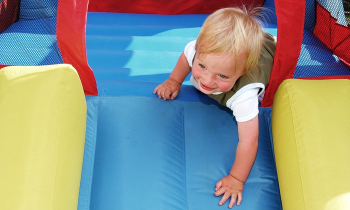 Giggle N Jump - Bastrop: Five or Ten All-Day Play Passes at Giggle N Jump (Up to 56% Off)