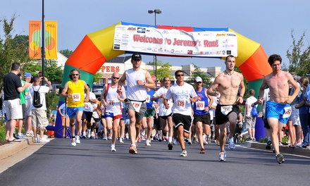 10K or 5K Run for One, or Fun Run for Two to Jeremy's Run (Up to 51% Off)
