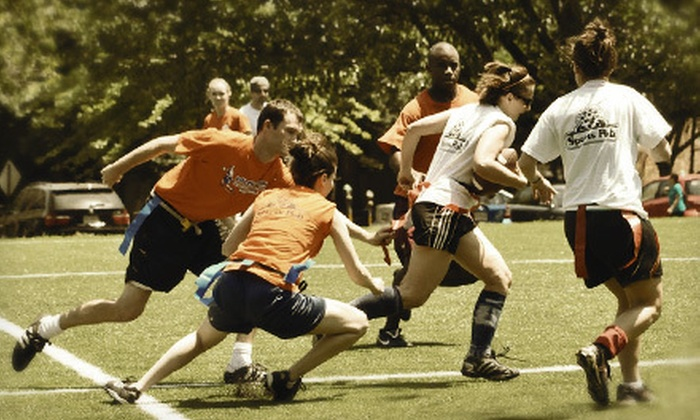 DC Social Sports Club - Multiple Locations: Individual Membership to Recreational Sports League from DC Social Sports Club (Up to 56% Off). Three Options Available.