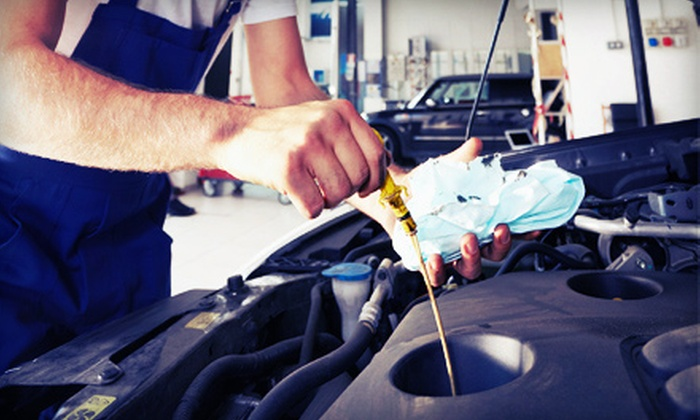 Meineke Auto Repair - Multiple Locations: $39.99 for a Supreme Oil Change with Tire Balancing at Meineke Auto Repair ($82.75 Value)