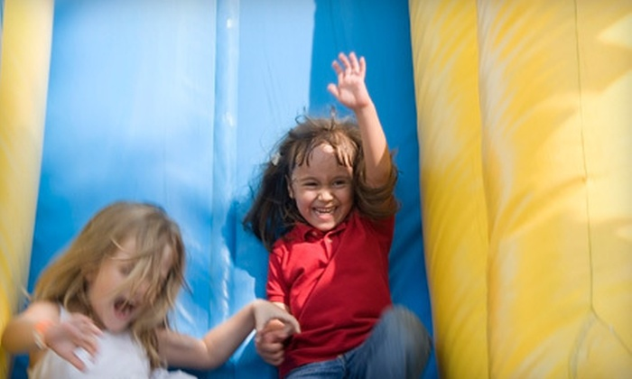 Kidzone - Blue Springs: Five or Eight Open Indoor Play Sessions at Kidzone in Blue Springs (Up to 56% Off)