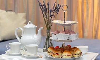Afternoon Tea With Bubbly For Two or Four on the Thames at The Red Lion Hotel (Up to 57% Off)