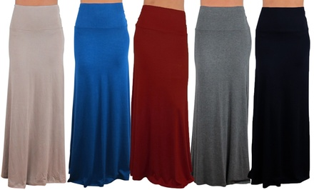 Free to Live Maxi Skirt. Multiple Colors Available. Free Returns.