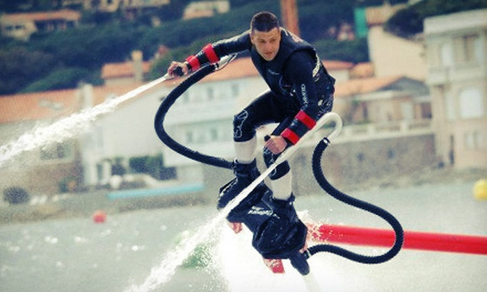 Flyboard Texas - Grapevine: One-Hour Flyboard Flight Experience for Two or a Two-Hour Experience for Four from Flyboard Texas (53% Off)