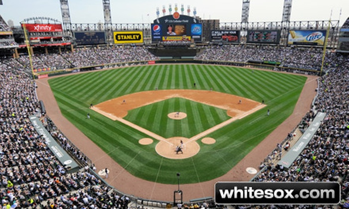 Chicago White Sox   Guaranteed Rate Field: Chicago White Sox Game With Patio  Party At