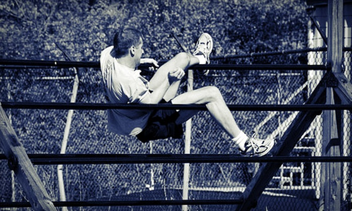 FTX CrossFit - Carol Stream: Two Hours of Obstacle-Course Training with One or Three Timed Course Runs at FTX CrossFit (Up to 55% Off)