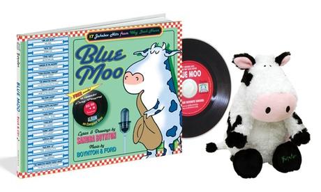 Blue Moo Book, CD, and Plush Set ea7583ae-3036-11e7-b526-00259069d868