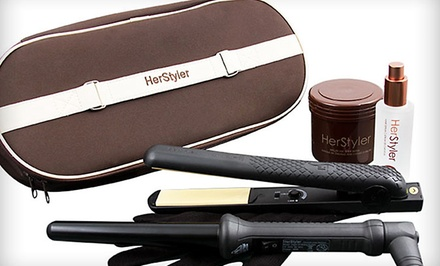 Herstyler Smoothing Argan-Oil System