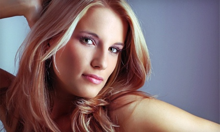 Cher Nelson Hair Design - Millard: One or Three Haircuts and Styles, or Haircut Package with Highlights at Cher Nelson Hair Design (Up to 57% Off)