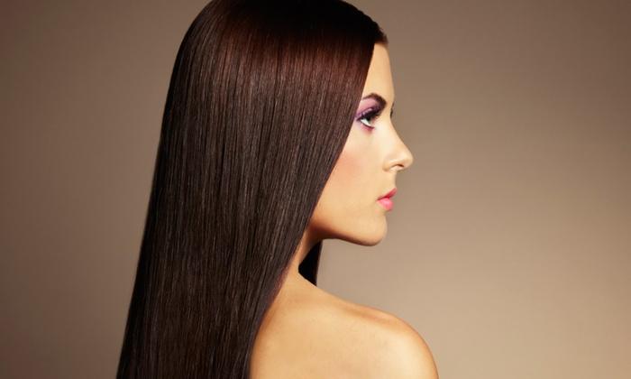 Pani Saeidi at Highland Salon and Spa - Katy: Keratin Treatment, or Haircut, Condition, and Blow-Dry from Pani Saeidi at Highland Salon and Spa (Up to 50% Off)