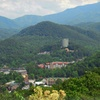 Resort Along Stream near Great Smoky Mountains