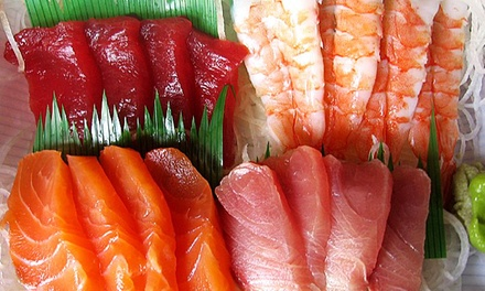 $17 for $30 Toward Sushi and Steakhouse Cuisine at Gio's Steak and Sushi Restaurant