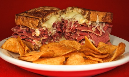 Deli Sandwiches and Drinks for Two or Four at Mort's Delicatessen (Up to 58% Off)