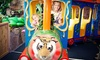 Indoor Safari Park - Flower Mound: $5 for Kids Outing with Rides and Access to Play Areas at Indoor Safari Park ($9.99 Value)
