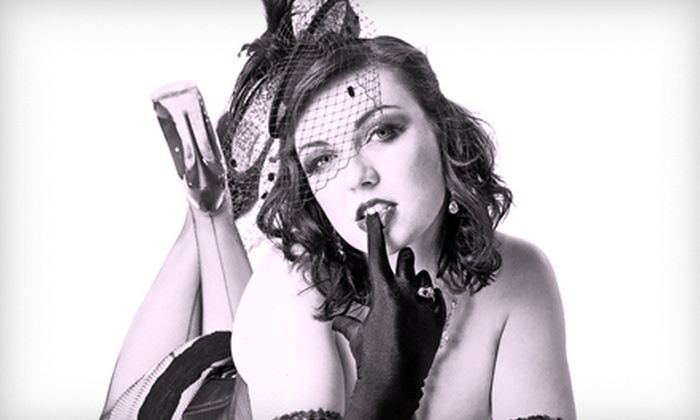 Kiss Kiss Cabaret - Lincoln Park: Kiss Kiss Cabaret Show with Drinks for Two or Six at Greenhouse Theater Center (Up to 57% Off)