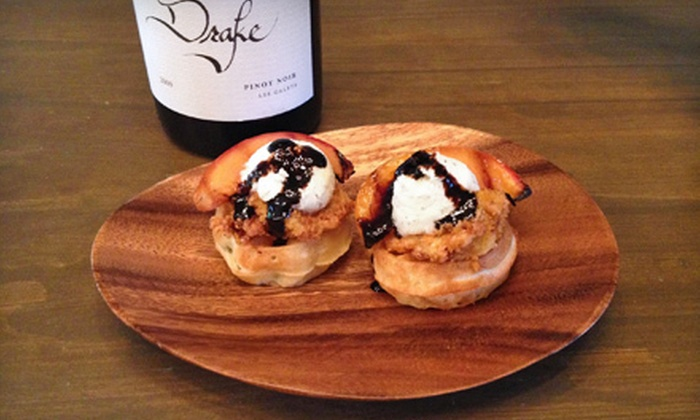 Drake Wines - Lower State: Wine Tastings or Fried Chicken and Waffle Wine Pairing for Two or Four at Drake Wines (Up to 52% Off)