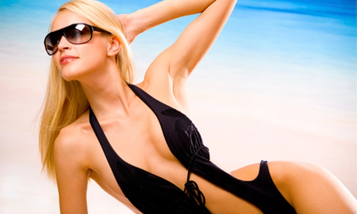 Sun Glo Tanning Studio - Hamiliton Place/East Brainerd: One Month Unlimited Entry-Level Tanning or Four or 12 Tanning Sessions at Sun Glo Tanning Studio (Up to 74% Off)