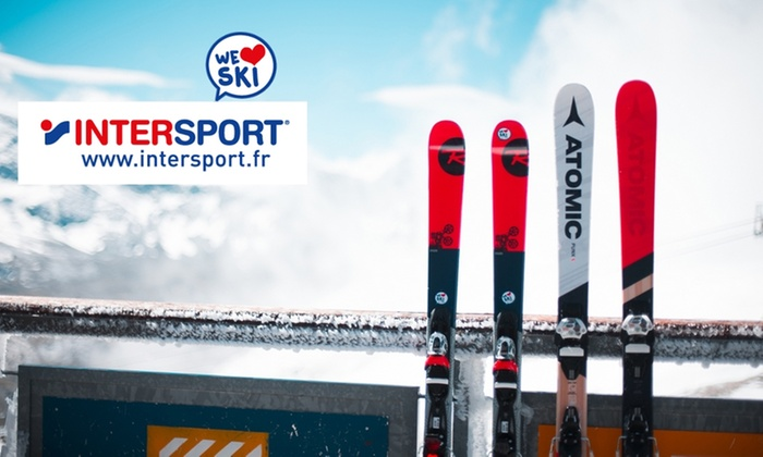 74a10005b3b31 Bon d'achat sur Intersport-rent. fr - INTERSPORT | Groupon