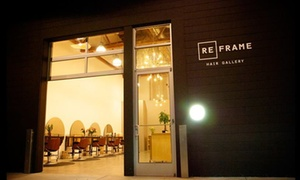 Reframe Hair Gallery: Color Touch-up and Blow-Dry from Reframe Hair Gallery (55% Off)