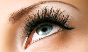 For Your Eyes Only Creative Hair Salon & Spa: $59.99 for Two Semipermanent Mascara Applications at For Your Eyes Only Creative Hair Salon & Spa ($150 Value)