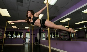Elite Pole & Fitness: 5 or 10 Pole-Dancing or Vinyasa-Yoga Classes at Elite Pole & Fitness (Up to 54% Off)