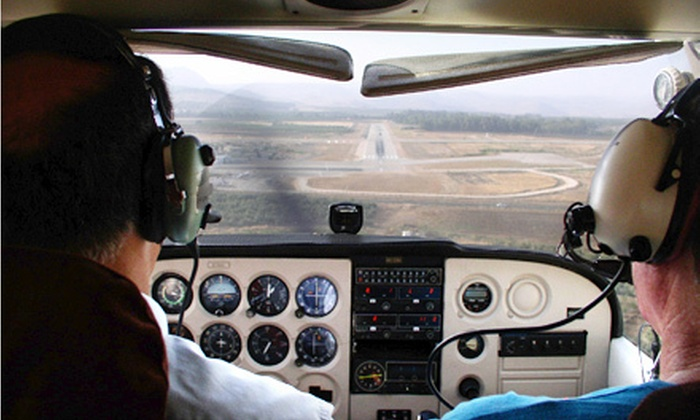 Alpha-One Air Service - Rowan County Airport: $149 for a Discovery-Flight Piloting Experience at Alpha-One Air Service in Salisbury ($391.50 Value)