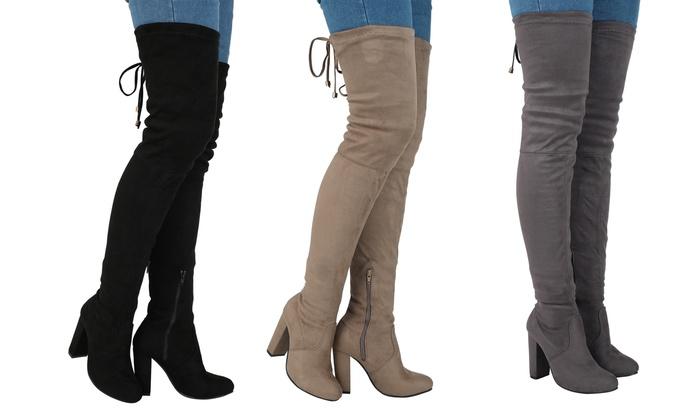349ac78c270 Women's Over Knee Boots | Groupon Goods