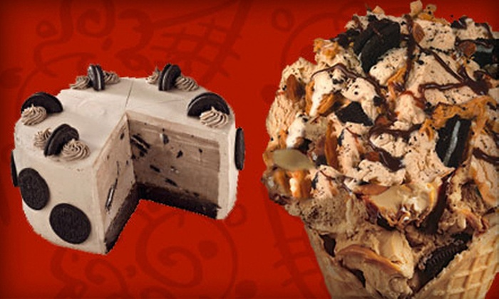 Cold Stone Creamery - Lake Arbor: $4 Toward Ice Cream