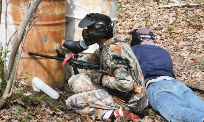 WarPlay Paintball - 4: All-Day Paintball Package with Gear Rental for Two, Four, Six, or Eight at WarPlay Paintball (Up to 85% Off)
