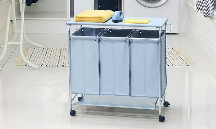 Fabric Laundry Hamper Nz: Laundry Hamper And Ironing Board